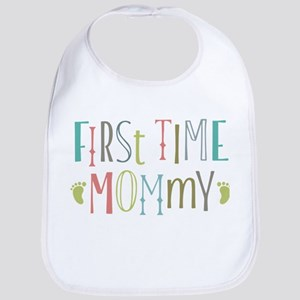 First Time Mommy Bib