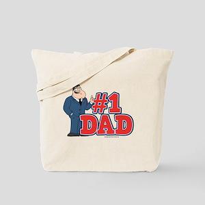 American Dad #1 Dad Tote Bag