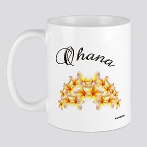 """PLUMERIA~OHANA"" Mug"