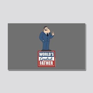 American Dad World's Greatest F Car Magnet 20 x 12