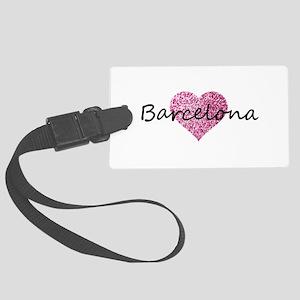 Barcelona Large Luggage Tag