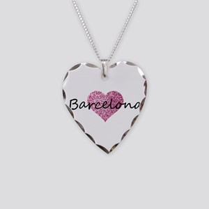 Barcelona Necklace Heart Charm