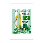 IRISH ACCENT Posters