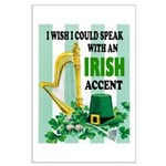IRISH ACCENT Posters