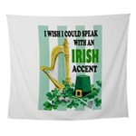 IRISH ACCENT Wall Tapestry