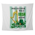 IRISH ACCENT Wall Tapestry