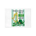 IRISH ACCENT 5'x7'Area Rug