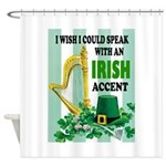 IRISH ACCENT Shower Curtain