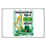 IRISH ACCENT Banner