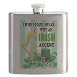 IRISH ACCENT Flask