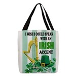 IRISH ACCENT Polyester Tote Bag