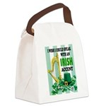IRISH ACCENT Canvas Lunch Bag