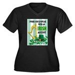 IRISH ACCENT Plus Size T-Shirt