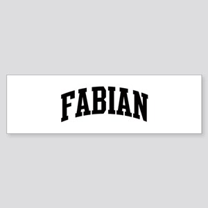 FABIAN (curve) Bumper Sticker