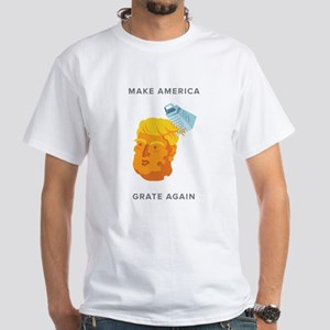 White T-Shirt = Cheez Head