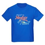 Naughty & Nice Kids Dark T-Shirt