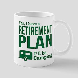 Camping Retirement Plan Mugs