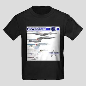 U.S.S. Enterprise Lineage T-Shirt