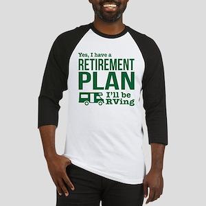 RVing Retirement Plan Baseball Jersey