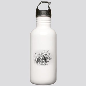 White Horse of a King Stainless Water Bottle 1.0L