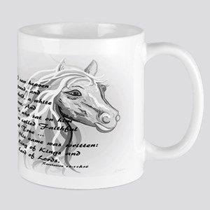 White Horse of a King Mugs