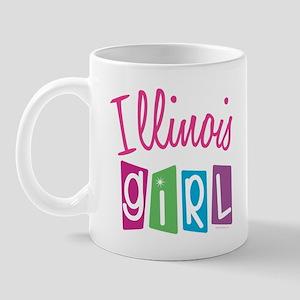 ILLINOIS GIRL! Mug