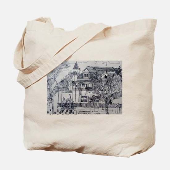 Southernmost House - Key West, Fla. Tote Bag