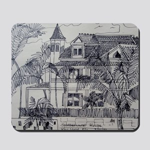 Southernmost House - Key West, Fla. Mousepad