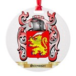 Scrymser Round Ornament