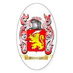 Scrymigar Sticker (Oval 10 pk)