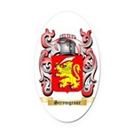 Scrymgeour Oval Car Magnet