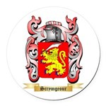 Scrymgeour Round Car Magnet