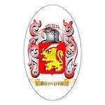Scrymgeour Sticker (Oval)