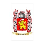 Scrymgeor Sticker (Rectangle 50 pk)