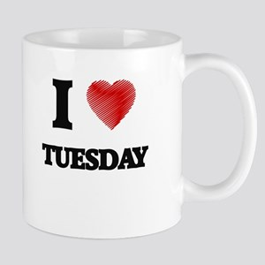 I love Tuesday Mugs