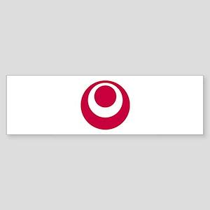 Flag of Okinawa Prefecture Bumper Sticker