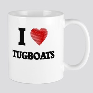 I love Tugboats Mugs