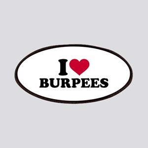 I love Burpees Patch