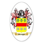 Scruggs Sticker (Oval 50 pk)