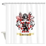Scrivings Shower Curtain