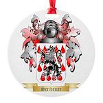 Scrivenor Round Ornament