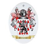 Scrivenor Oval Ornament