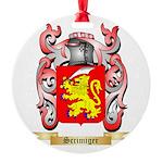 Scrimiger Round Ornament