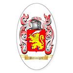 Scrimiger Sticker (Oval 50 pk)
