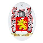 Scrimiger Oval Ornament