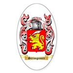 Scrimgeoure Sticker (Oval 10 pk)