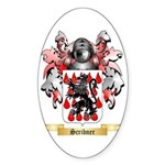 Scribner Sticker (Oval 50 pk)