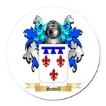Scovill Round Car Magnet