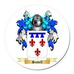 Scovell Round Car Magnet