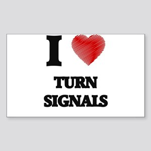 I love Turn Signals Sticker